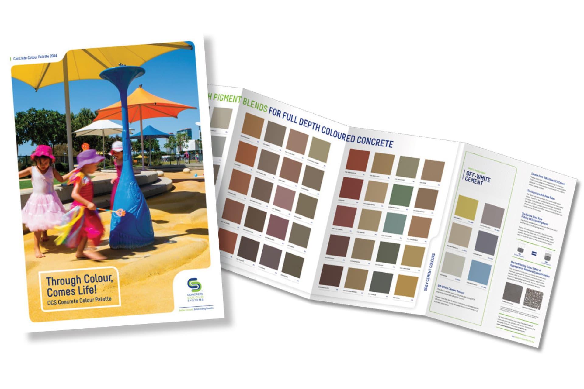 Concrete Colour Systems Pigment Colour Card